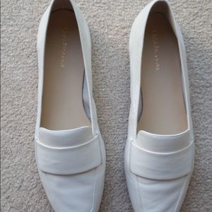 Enzo Angiolini white loafers flats size 10 New